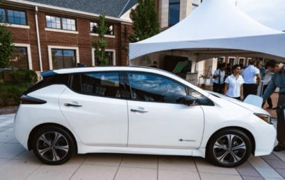 Новый Nissan Leaf будет представлен в январе